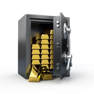 Coffre fort pour stocker l'or à son domicile