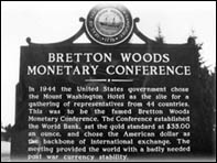 La fin des accords de Bretton Woods font de l'or la valeur refuge par excellence