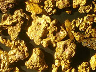 Comment se forment les filons d'or dans les gisements ?