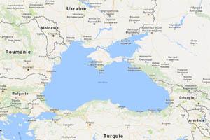 La Crimée, au milieu de la Mer Noire, a été annexée par la Russie de Poutine en 2014