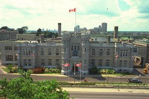 Le bâtiment historique de la Royal Canadian Mint à Ottawa
