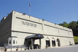 L'US Mint de West Point frappe les pieces American Eagle