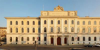 Le siège social de l'Austrian Mint dans le centre deVienne
